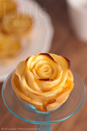 Mini tartaletas de manzana | Mini apple tarts
