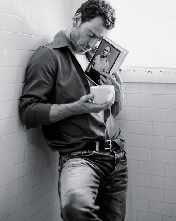 Michael Fassbender, photographed by Bruce Weber for The New York Times Style, Men's Fashion, Fall 2015.
