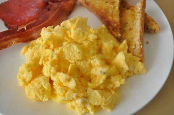 Jim's Microwave Scrambled Eggs