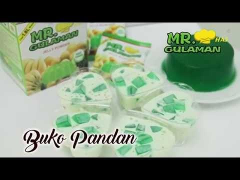 Mr Hat Gulaman Buko Pandan Recipe Youtube Buko Pandan Recipe Pandan Pinoy Dessert