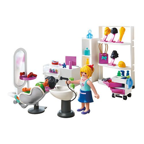 playmobil city life beauty salon playmobil toys r us. Black Bedroom Furniture Sets. Home Design Ideas