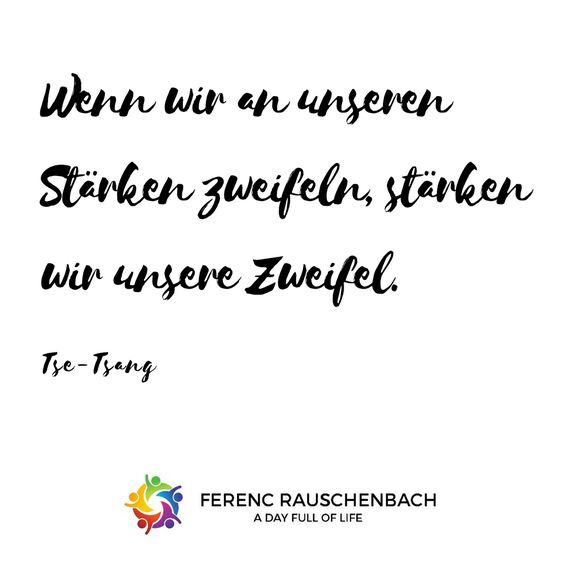 Glaub an Dich !!! Motivation Zitate Quote