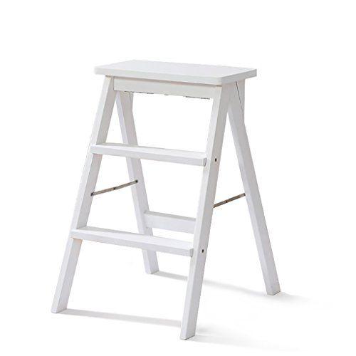Ladder Chair 2 Step Ladder Folding 3 Tier Ladder Stool Wood Bench