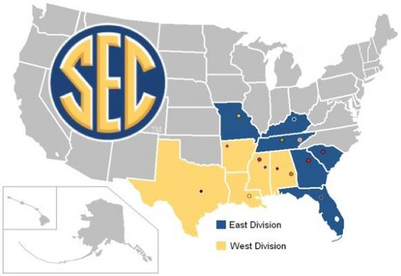 A newcomer's guide to the mighty SEC - welcome to the club