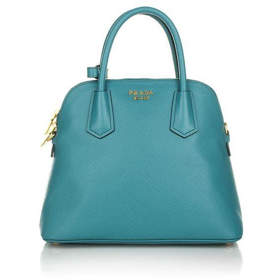 Prada – Handbag Saffiano Cuir Laguna - Prada Handbag Saffiano Cuir Laguna Handtaschen