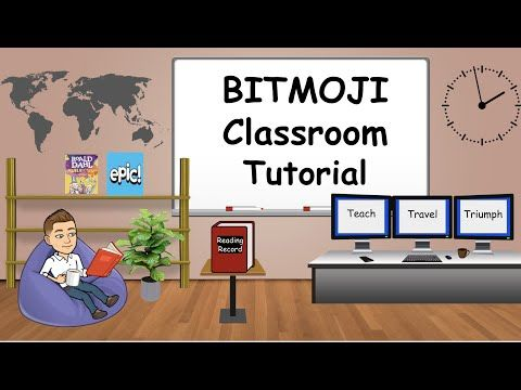 Ultimate Guide To Creating A Virtual Bitmoji Classroom Wtih Backgrounds And Decorations Interactive Classroom Google Classroom Elementary Classroom Background