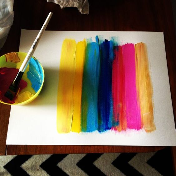Art projects you can do at home
