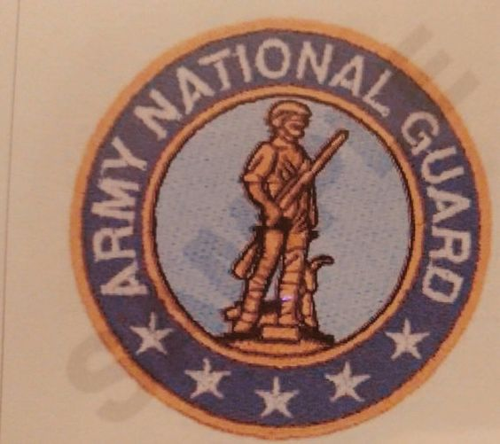 US National Guard Embroidered Logos Air and Army on T-Shirts, Polos, Towels and More