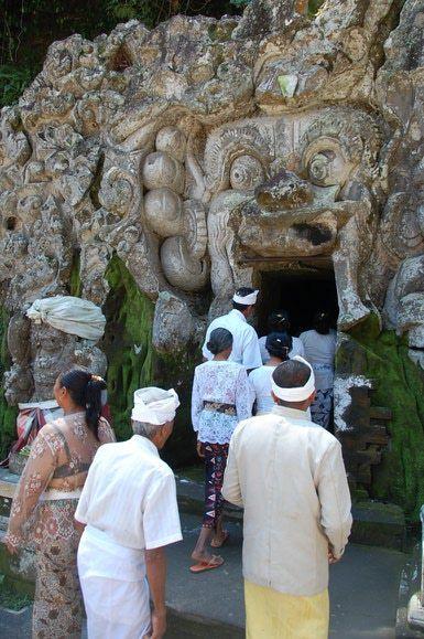Goa Gajah Elephant Cave Near Ubud - Image © Greg Rodgers, licensed to About.com
