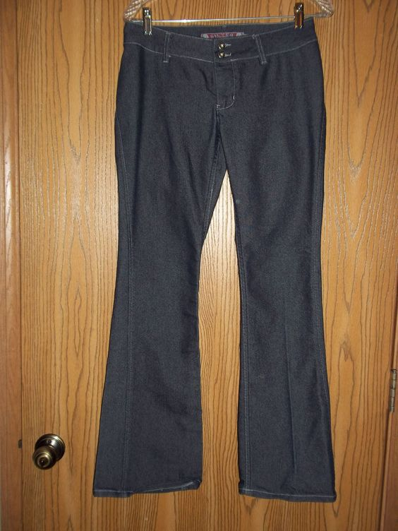 Silver Jeans Western Glove Works Size 29 Size 8 SILVER Flare