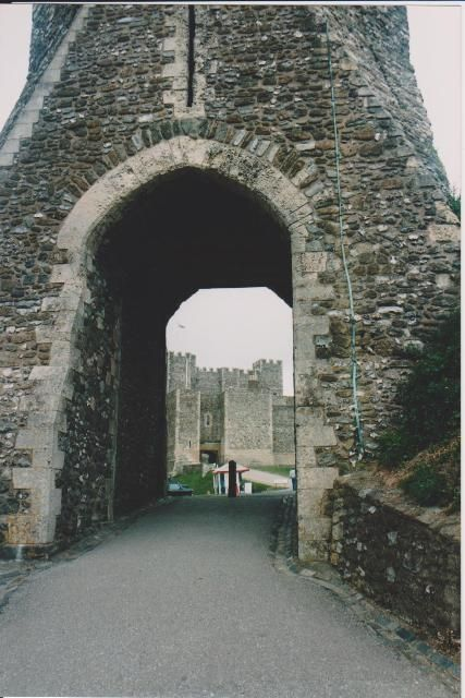 Britain: Entrance to Dover Castle