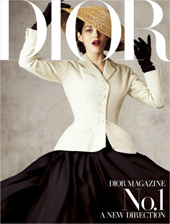 Marion Cotillard // Dior Magazine