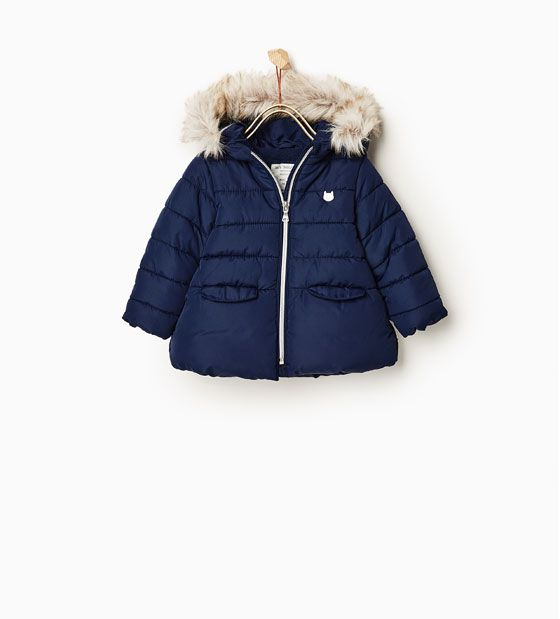Image 1 of Basic quilted jacket from Zara | Baby It's Cold Outside ...