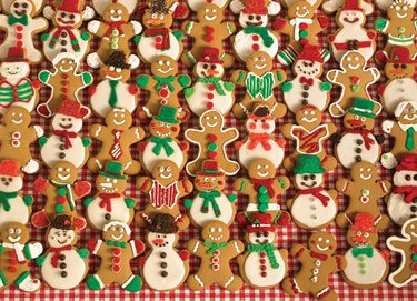 Christmas Bakesale Jigsaw Puzzle | What's New | Vermont Christmas Co. VT Holiday Gift Shop
