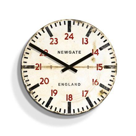 Tube Station Wall Clock