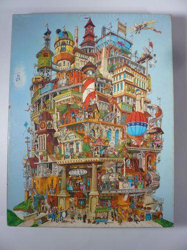 Vintage 1977 Springbok Verticalville Jigsaw Puzzle Over