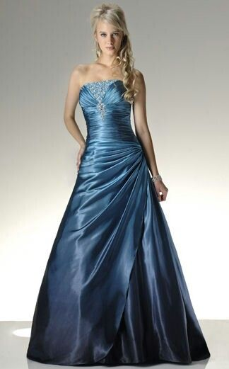 Collection Beautiful Blue Prom Dresses Pictures - Reikian