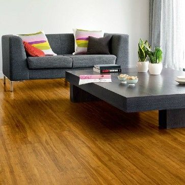 Strand woven bamboo flooring - contemporary - living room - other metro - Shanghai Linfeng Parquet CO.,LTD