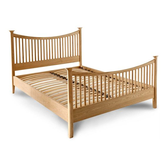 Southwold Solid Oak High Foot End Bed Frame