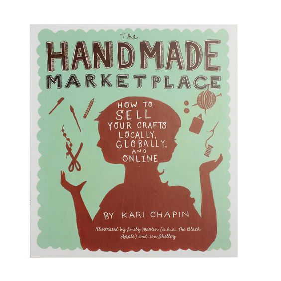 The Handmade Market Place. This book has been designed to help you turn your hobby into a business. The book includes chapters on marketing, blogging, advertising and selling in stores and online. A useful book for anyone considering starting an independent business, or looking for some advice on selling their designs.  £14.99