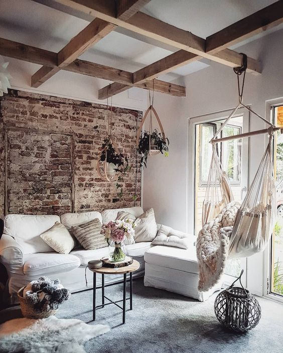 60 Delightful Family Room Ideas And Designs Brick Living Room Home Decor Rustic Family Room
