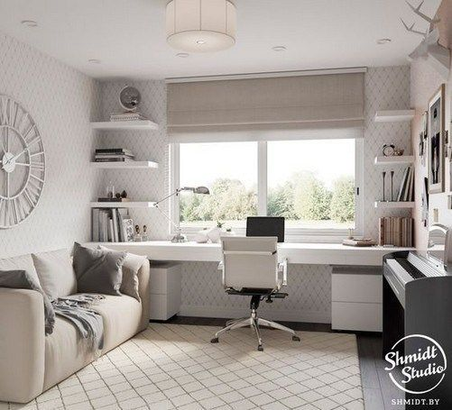Study room ideas offices small spaces 14 - www.Bodrumhavadis ...