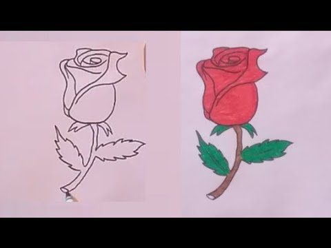 How To Draw A Flower Step By Step Flower Step By Step Drawings Home Decor Decals