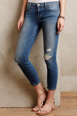 J Brand 835 Capri Jeans Tinted Denim Denim #anthroregistry