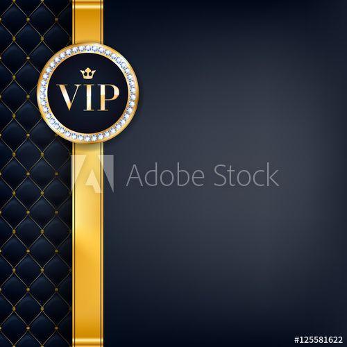 Vip Invitation Card Premium Design Template Design Template Vip Logo Premium Design