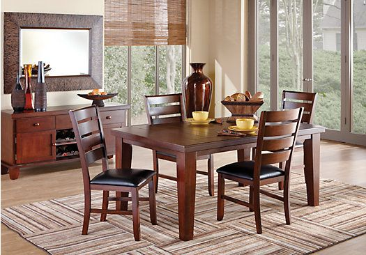Lake tahoe dining room sets and room set on pinterest for Dining room outlet reviews