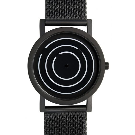 Black Free Time, by Projects Watches (Design by Laurinda Spear) #watch