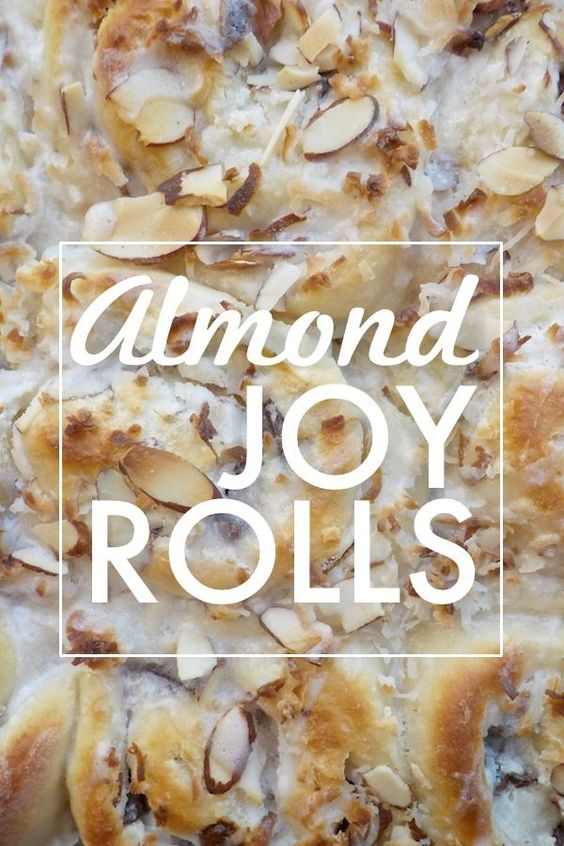 Rethinking the cinnamon roll with these Almond Joy Rolls. They have cream cheese filling with coconut and chocolate chunks throughout.
