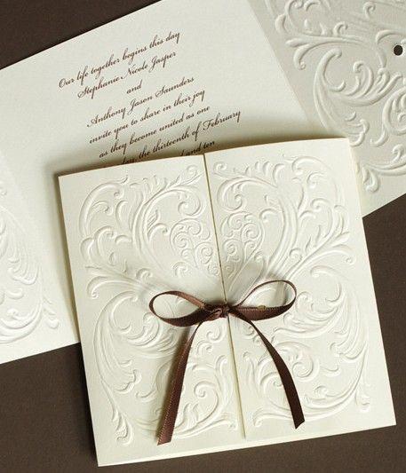 Handmade Wedding Invitation Cards: Perfect Modern Wedding Invitations Ideas