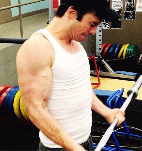 Ian Somerhalder muscles