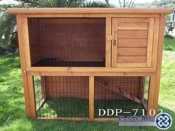 Rabbit hutch ideas outside pinterest rabbit cages for Rabbit hutch ideas