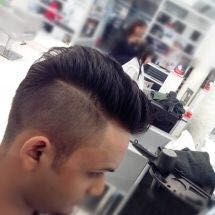 You should invest in your hair, because that's the crown you'll never take off. On TheChairr.com you can see the work done at your nearest unisex salon, barber shop, etc. Call and book the best :) #haircut #hairstyleformen #haircutformens #saksindia #ha