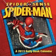 Spider-Sense Spider-Man 2013 Calendar(FREE SHIPPING)