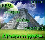 """Banner do Blog """"A Pirâmide de Kukúlkan""""."""