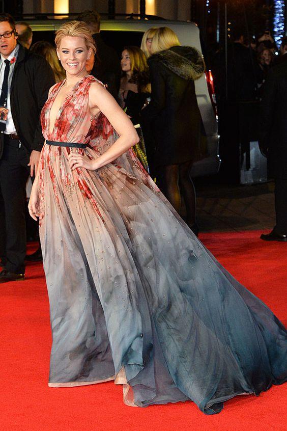 """Wow! Zur Londoner Premiere von """"Die Tribute von Panem: Mockingjay – Teil 1"""" kamen die Stars in wunderschönen Abendkleidern http://bit.ly/14bYnFY"""