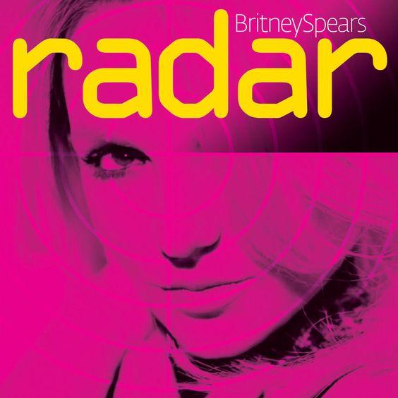 Britney Spears – Radar (single cover art)