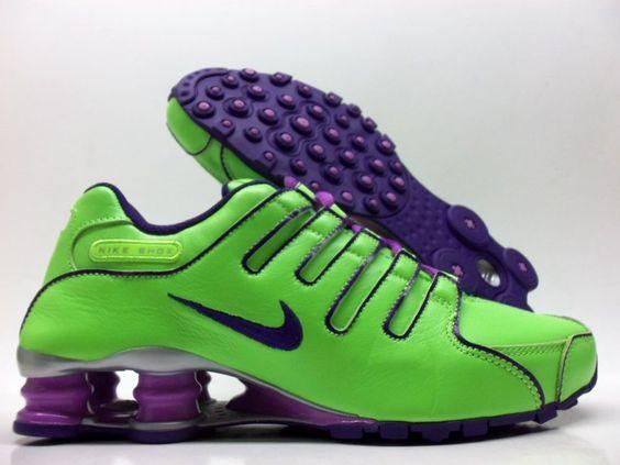 Nike Shox Neon Green