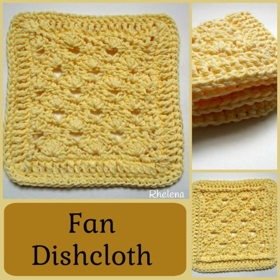 Free Online Crochet Dishcloth Patterns : Pinterest The world s catalog of ideas