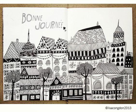 On Keeping a Sketchbook by Lisa Congdon