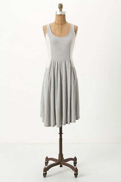 Curved Colorblock Chemise #anthropologie