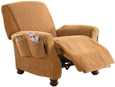 Amazon Com Collections Etc Furniture Covers Recliner Cover Slipcovers For Chairs Recliner Chair Covers