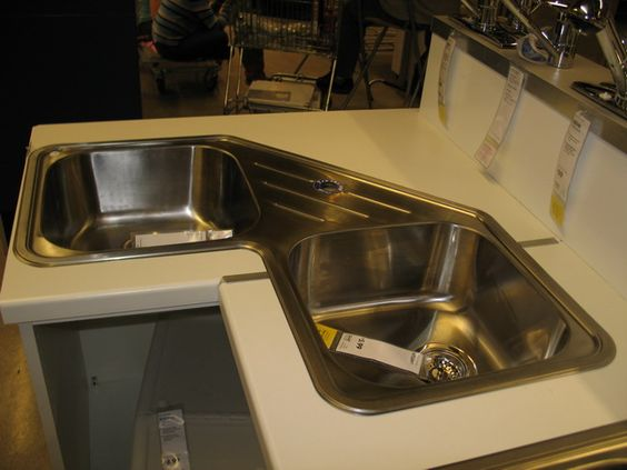 Corner Kitchen Sink Ikea : sinks kitchen corner and more corner sink sinks kitchen planning ikea ...