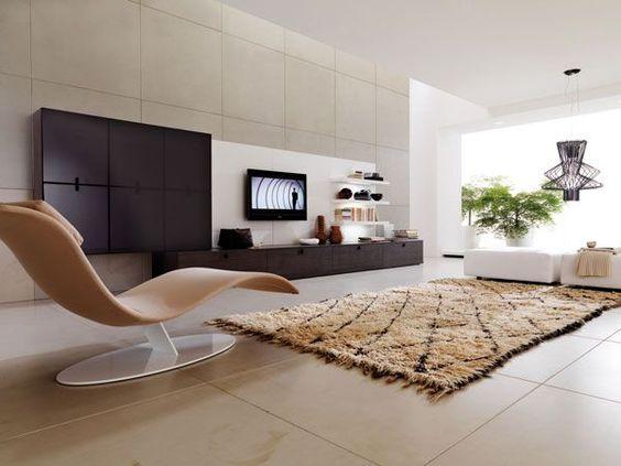 Contemporáneo. #IdeasenOrden #salas #decoracion
