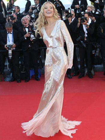 #PetraNemcova · #Cannes 2013 · Vestido de #EmilioPucci