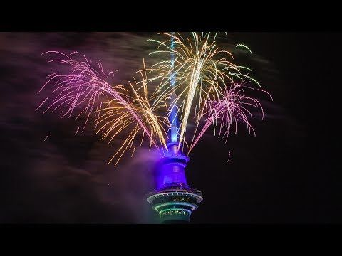 New Zealand Celebrates New Year S Eve 2020 With Fireworks Youtube In 2020 New Year S Eve Countdown New Year S Eve 2020 New Years Countdown