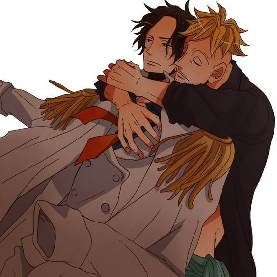 Tags: Anime, ONE PIECE, Portgas D. Ace, Marine (One Piece), Marco: